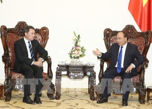 Nguyen Xuan Phuc reçoit des responsables américain et sud-coréen - ảnh 1