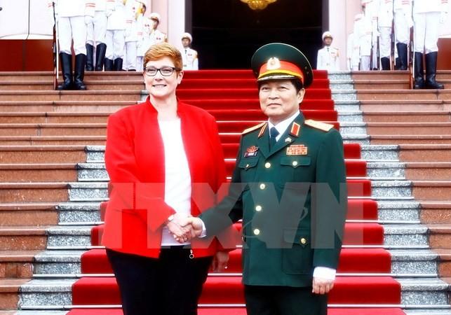 Défense : intensifier la coopération Vietnam – Australie - ảnh 1