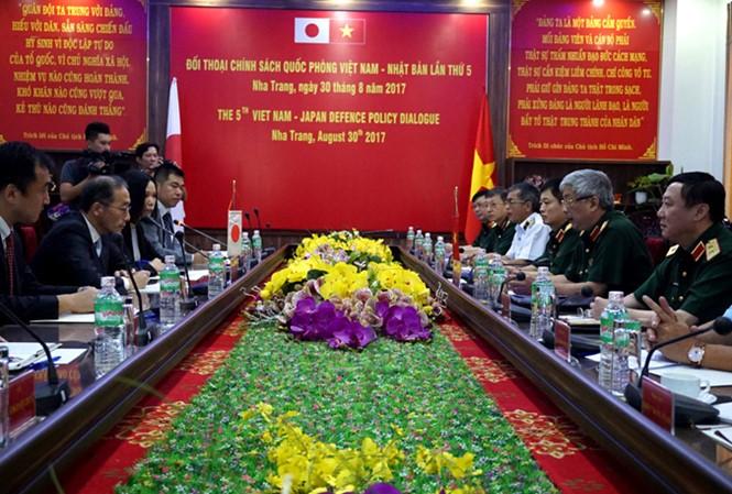 5ème dialogue sur la politique de la défense Vietnam-Japon - ảnh 1