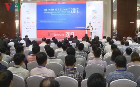Sommet des technologies de l'information et de la communication Vietnam ICT Summit 2017 - ảnh 1