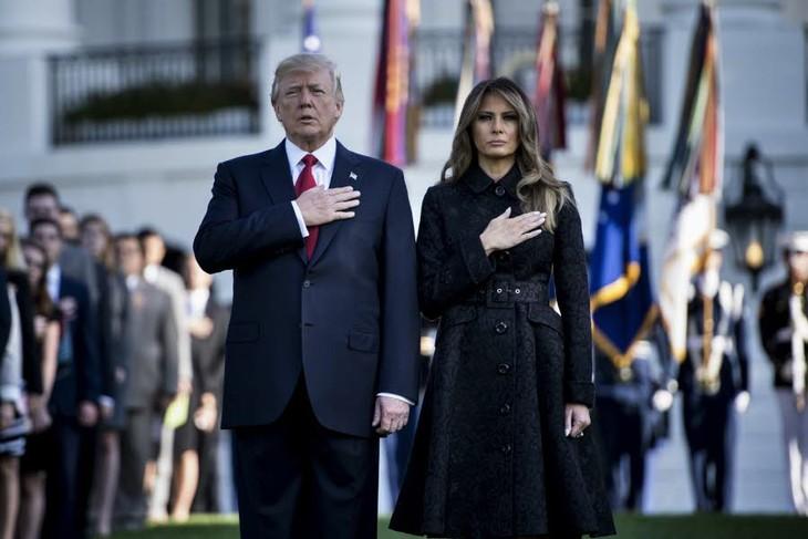 Donald Trump participe à sa première cérémonie du 11 septembre - ảnh 1