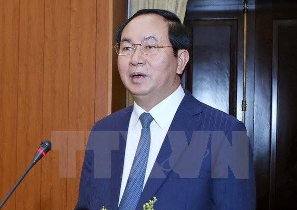APEC 2017 : Tran Dai Quang plaide pour un engagement plus fort des ministères et services compétents - ảnh 1