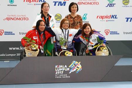 ASEAN ParaGames 9 : le Vietnam remporte 4 médailles d'or en natation - ảnh 1