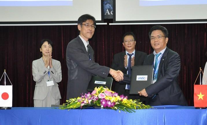 Vietnam-Japon: signature d'une convention sur le partage des données satellitaires - ảnh 1