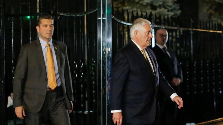 Rencontre de Rex Tillerson et de Sergei Lavrov à New York - ảnh 1