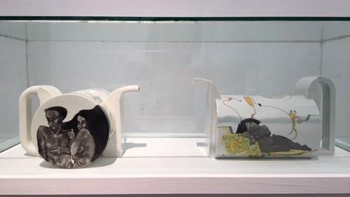 Vernissage de l'exposition sur «la céramique hongroise contemporaine» - ảnh 1