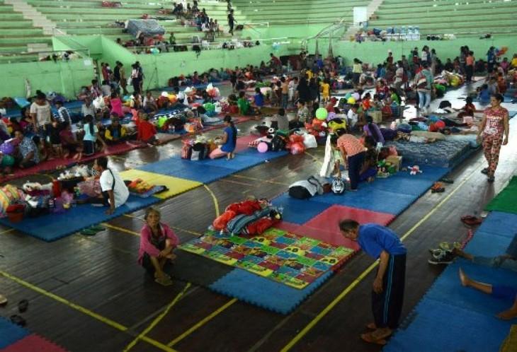 Volcan à Bali: aide d'urgence pour 57.000 habitants évacués - ảnh 1