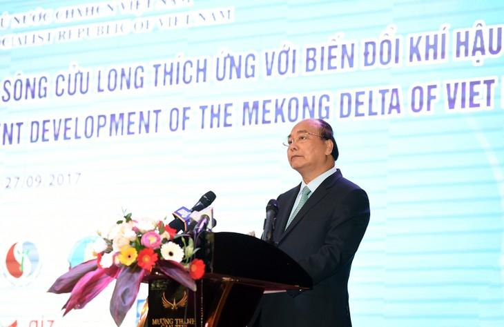 Delta du Mékong: Nguyen Xuan Phuc donne sa vision - ảnh 1