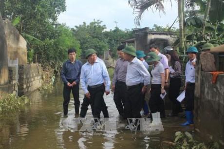 Typhon Khanun : Pham Binh Minh en déplacement à Thanh Hoa - ảnh 1