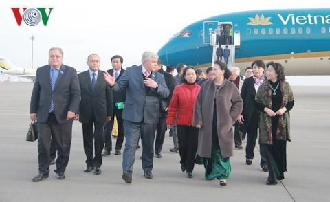 Nguyen Thi Kim Ngan en visite officielle au Kazakhstan - ảnh 1