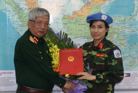 La 1ère femme soldat vietnamienne aux opérations de maintien de la paix de l'ONU - ảnh 1
