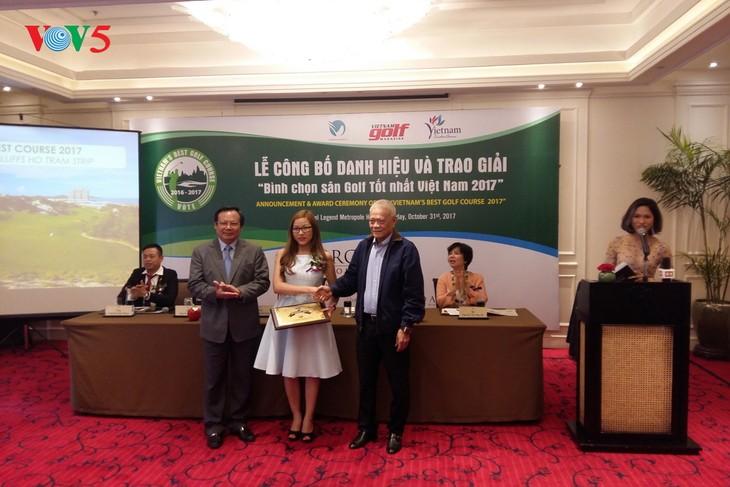 The Bluffs Ho Tram Strip - meilleur terrain de golf du Vietnam en 2017 - ảnh 1