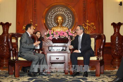 Ho Chi Minh-ville souhaite coopérer avec Saitama dans la formation des ressources humaines - ảnh 1