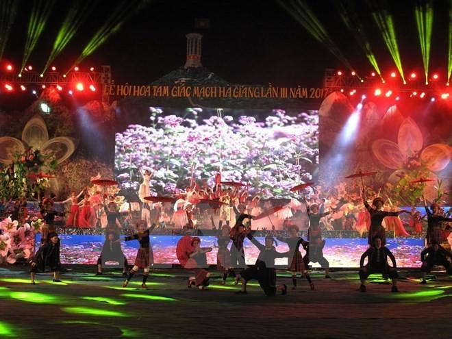 Ouverture du festival des fleurs de sarrasin du plateau calcaire de Dông Van - ảnh 1
