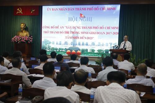 Édifier Ho Chi Minh-ville en une mégapole intelligente - ảnh 1