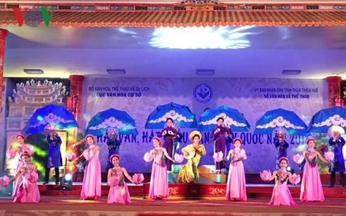 Un festival de chant van à Huê - ảnh 1