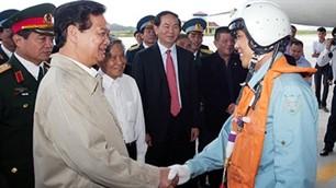Premierminister Dung besucht Binh Dinh - ảnh 1