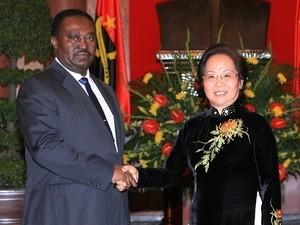 Vietnam und Angola diskutieren Zusammenarbeit in Hanoi - ảnh 1