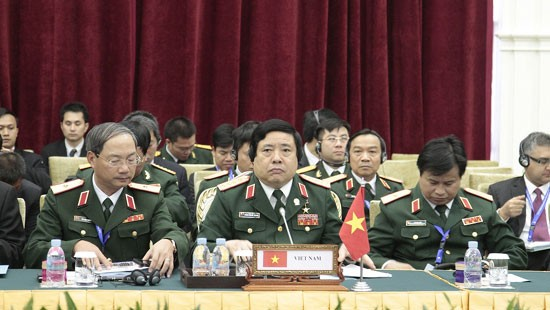Eröffung der Konferenz der ASEAN-Verteidigungsminister in Kambodscha - ảnh 1