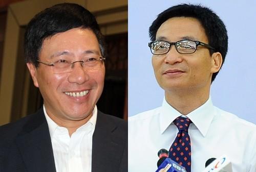Vietnamesische Regierung hat zwei neue Vize-Premierminister - ảnh 1