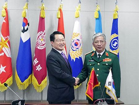 Vietnamensisch -südkoreanischer Verteidigungsdialog - ảnh 1