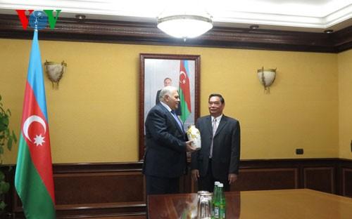 Vietnam-Aserbaidschan-Beziehungen vor guten Perspektiven - ảnh 1