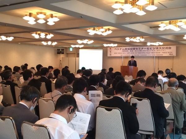 Vietnam veranstaltet Seminar zur Investitionsförderung in Japan - ảnh 1
