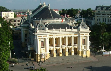 Die Hanoier Oper - Eine historische Einrichtung mit besonderer Architektur - ảnh 1