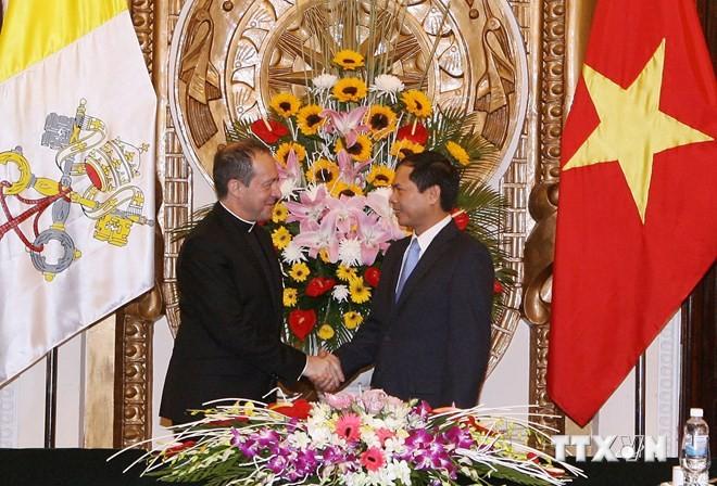 Starke Basis für diplomatische Beziehungen zwischen Vietnam und Vatikan - ảnh 1