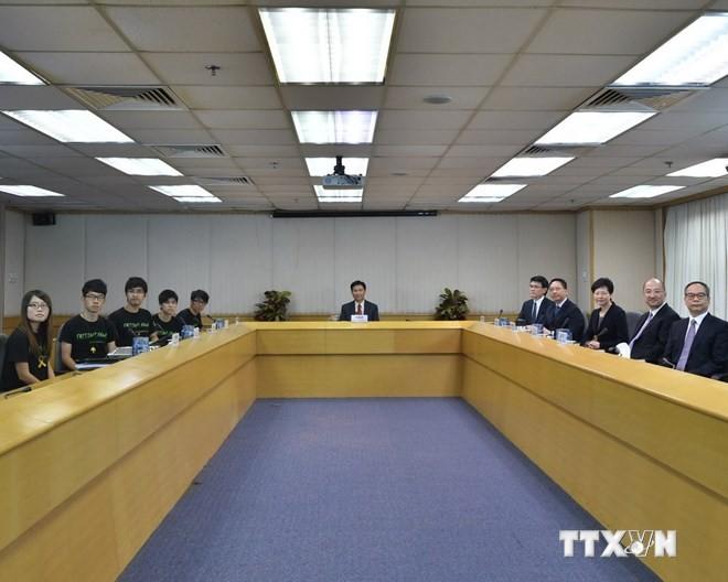 Gespräche zwischen Hongkonger Regierung und Studenten gehen zu Ende - ảnh 1