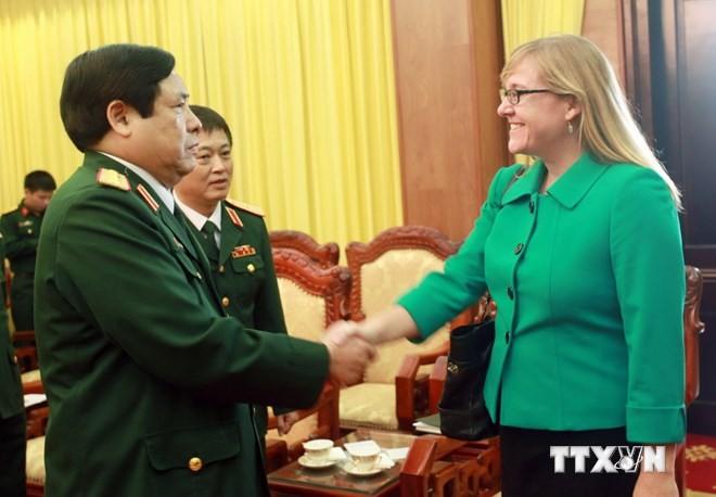 Dialog zwischen Vietnam und den USA über Verteidigungspolitik - ảnh 1