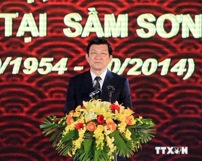 Feier: Empfang der Menschen, die während des Kriegs aus Süden evakuiert wurden - ảnh 1