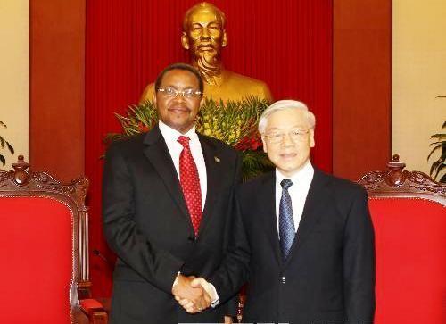 Tansanischer Präsident Kikwete beendet seinen Vietnam-Besuch - ảnh 1