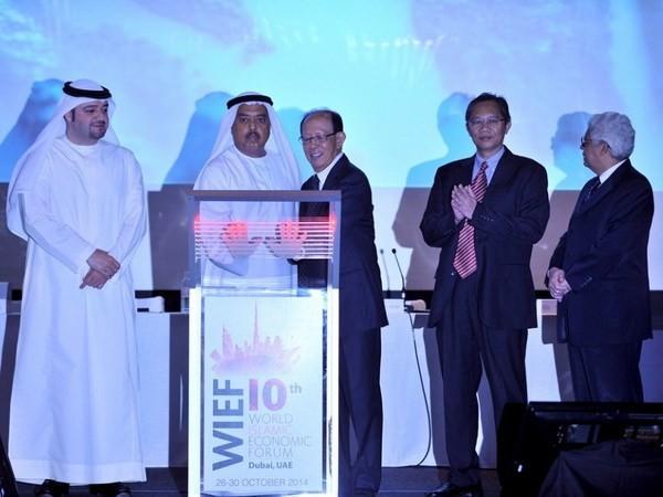 Eröffnung des islamischen Weltwirtschaftsforums in UAE - ảnh 1