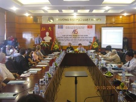 45jährige Aufnahme diplomatischer Beziehung zwischen Vietnam und Schweden - ảnh 1