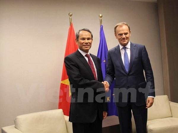 EU achtet auf effiziente Zusammenarbeit mit Vietnam - ảnh 1
