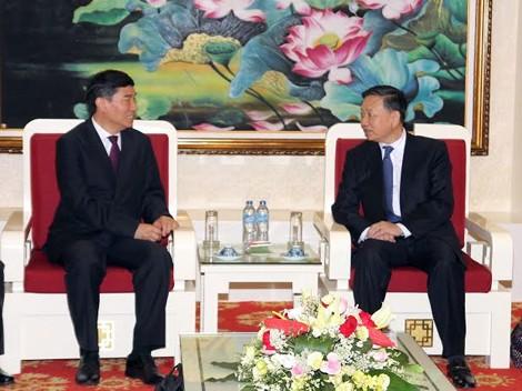 Delegation von Wachmännern des chinesischen Polizeiministeriums besucht Vietnam - ảnh 1