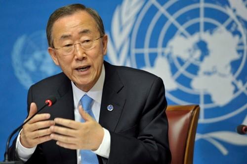 UN-Generalsekretär tief besorgt über Flüchtlingskrise in Südostasien - ảnh 1