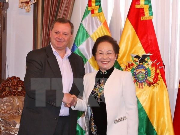 Vize-Staatspräsidentin Doan besucht Bolivien - ảnh 1