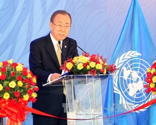 Ban Ki-moon: Vietnam ist Zugpferd bei der Reform der UNO - ảnh 1