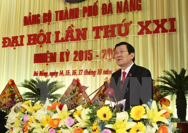 Parteikonferenzen in Danang, Hau Giang, Tra Vinh, Binh Dinh und Vinh Phuc - ảnh 1
