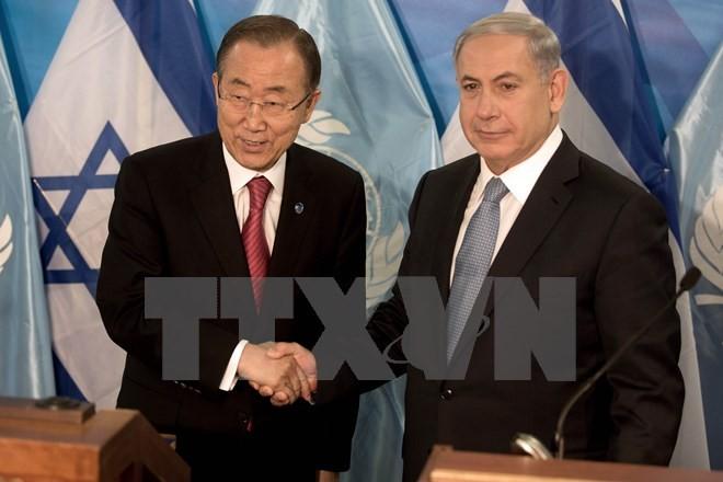 Der UN-Generalsekretär ruft Israel und Palästina zum Beenden der Gewalt auf - ảnh 1