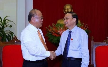 To Huy Rua trifft Sonderberater der Abgeordnetengruppe Japan-Vietnam - ảnh 1