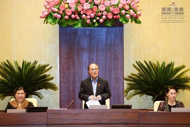 Der Parlamentspräsident zum Vorsitzenden des nationalen Wahlrates  - ảnh 1
