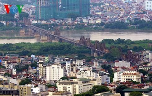 Die Hauptstadt Hanoi von oben  - ảnh 10