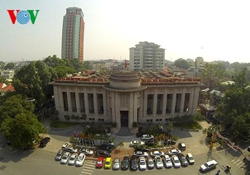 Die Hauptstadt Hanoi von oben  - ảnh 11