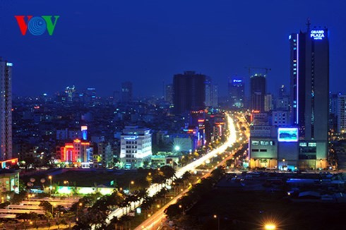 Die Hauptstadt Hanoi von oben  - ảnh 13