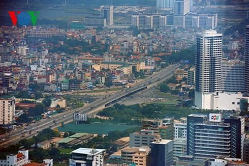 Die Hauptstadt Hanoi von oben  - ảnh 2