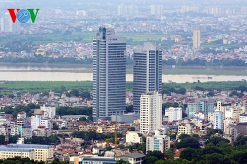 Die Hauptstadt Hanoi von oben  - ảnh 4