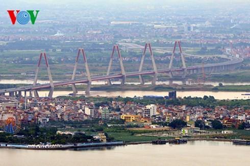 Die Hauptstadt Hanoi von oben  - ảnh 5